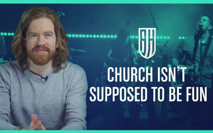 Stop Trying to Make Church Fun – It's About Something Much More Important